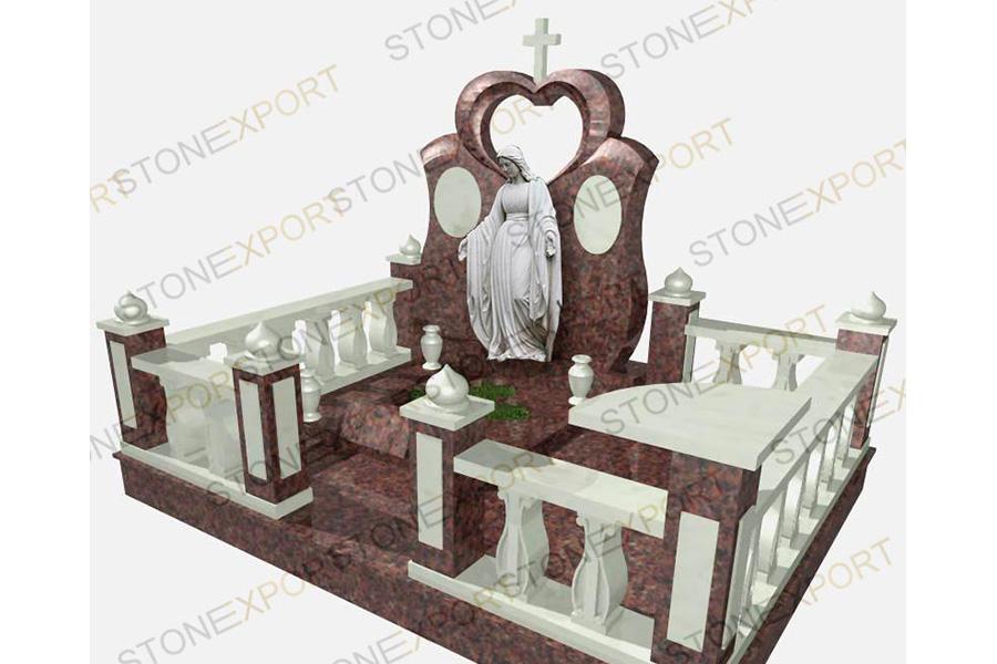 Эконом памятник Волна в камне Сухой Лог памятники на могилу образцы санкт-петербург смоленское